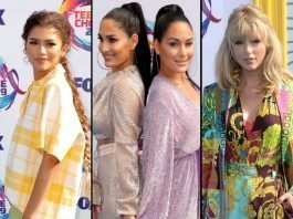 Zendaya-Nikki-Bella-and-Brie-Bella-Taylor-Swift-Teen-Choice-Awards-2019-Arrivals-Winners-and-Nominees